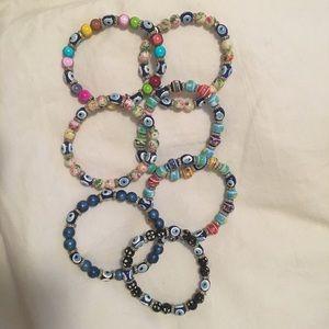 Jewelry - 3 for $20!! 2 Turkish talisman bracelets